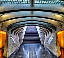 Liege-Guillemins Train Station - Belgium by Jeremy Lavender Photography