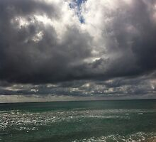 beach storm 2 by Sari Shein