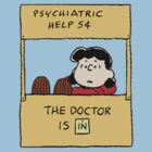 Peanuts - The doctor is in  by LanFan