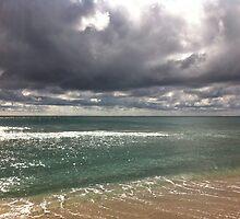 beach storm 6 by Sari Shein