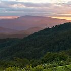Blue Ridge Sunset by Beth Mason