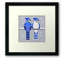 J is for Jay 2 Framed Print