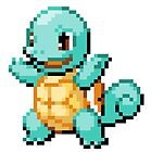 Pokemon - Squirtle Sprite by ffiorentini