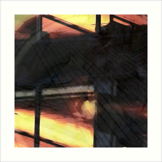 Evening Glow by Benedikt Amrhein