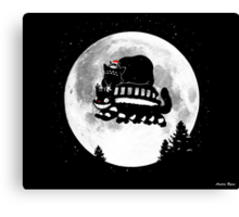 To-To-Ro Merry Christmas Canvas Print