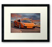 2008 Lamborghini Gallardo Superleggera II Framed Print