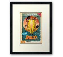 Scott Fraser & Kate Moon's BOLT! Framed Print