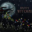 Happy Witchmiss Card design by Topher Adam by TopherAdam