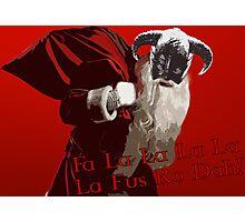 Fa La Fus Ro Dah! Photographic Print