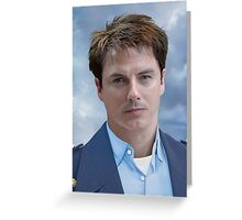 Captain Jack Harkness - Greeting Card Greeting Card