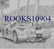 Shelby Series 1 SPORTS CAR ART PRINT by rooks10904