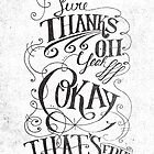 SURE THANKS by Matthew Taylor Wilson