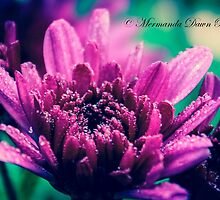 Magenta Droplets by MermandaDawn