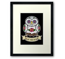 R.I.P Hedwig Sugar Skull Framed Print