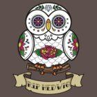 R.I.P Hedwig Sugar Skull by Artpunk101