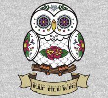 R.I.P Hedwig Sugar Skull Kids Clothes