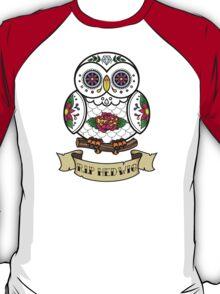 R.I.P Hedwig Sugar Skull T-Shirt