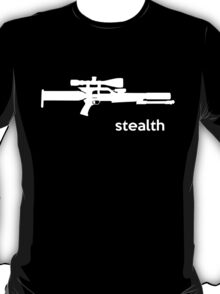 Gunpower Stealth Airgun T-shirt T-Shirt