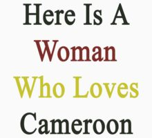 Here Is A Woman Who Loves Cameroon  by supernova23