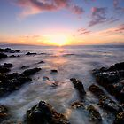 Evening Glow, Maui by Michael Treloar