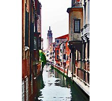 Canal View Photographic Print