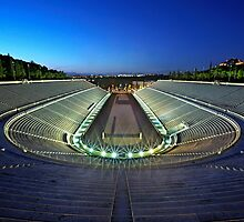 The Panathenaic Stadium by Hercules Milas