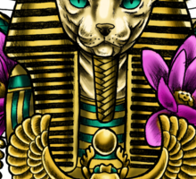PHARAOH CAT Sticker