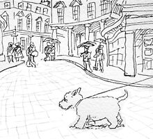 Bath likes dogs by Matt Mawson