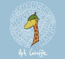 Art Giraffe- Circle of Art Kids Clothes