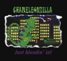 Chameleonzilla by superferretIX