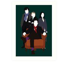 Consulting Detectives - Sherlock/Elementary Art Print