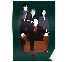 Consulting Detectives - Sherlock/Elementary Poster