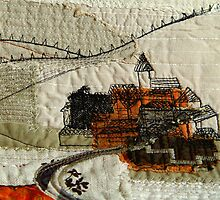 Under the rusty sun I by Bozena Wojtaszek