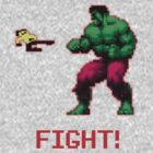 Fight 8-bit by Picshell80