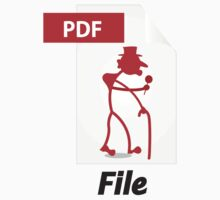 PDF File T-Shirt by Theoriginalpdf