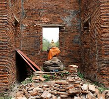 Rubble Buddha by Lisa Klement