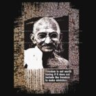 gandhi by arteology