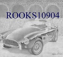 Shelby 289 Cobra SPORTS CAR ART PRINT by rooks10904