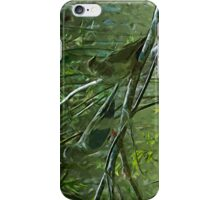 Pair of Morning Doves Abstract Impressionism iPhone Case/Skin