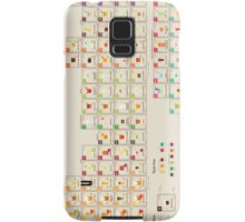 Periodic Table of Alcohol Samsung Galaxy Case/Skin