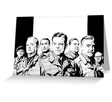 The Monuments Men Greeting Card