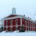 Iron County Courthouse Dressed for Christmas by Susan S. Kline