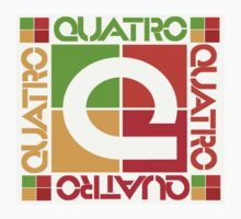Quatro....the logo of the 80's by ori-STUDFARM