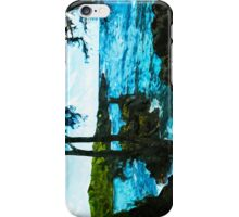 On the Road to Hana Maui Abstract Impressionism iPhone Case/Skin