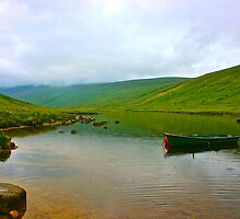 Loch Iorsa, Isle of Arran, Scotland by jakobtbones