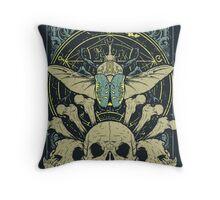 Doom Beetle 2 Throw Pillow