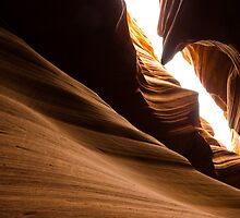 Unique Rock formation - Antelope canyon by Jerome Obille