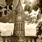 Light Shines on Manchester Town Hall by Stephen Knowles