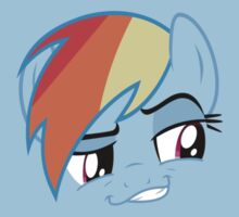 Rainbow Dash Smirk  by Austin673