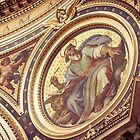 Inside the St Peter's Basilica by Lisa Taliana
